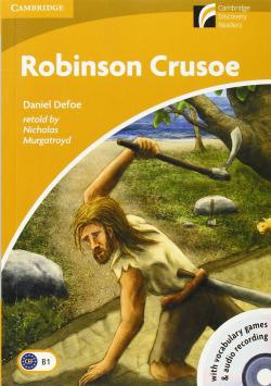 Robinson Crusoe Level 4 Intermediate Book with CD-ROM and Audio CD
