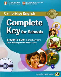 (14).COMPLETE KEY FOR SCHOOL.(ST-KEY+CD) (SPANISH SPEAKERS)