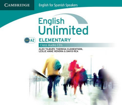 (CLASS CD).ENG.UNLIMITED ELEMENTARY (A2) (3 AUDIO CDS)