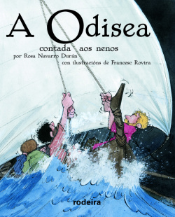 A ODISEA CONTADA AOS NENOS (edición RODEIRA en rústica Biblioteca Escolar)
