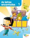 (G).(10).TIC-TAC.1 AS LETRAS ENCANTADAS *LECTURA GALEGO*