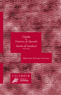Cartas Francisco de Quevedo Sancho Sandoval