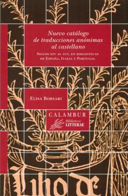 Nuevo catálogo de traducciones anónimas al castellano