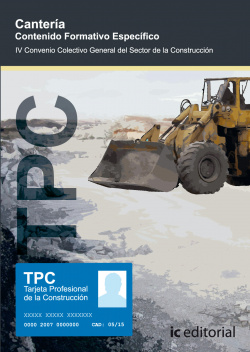 Tpc - cantería. contenido formativo específico