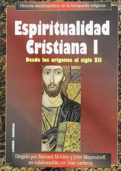 Espiritualidad cristiana I