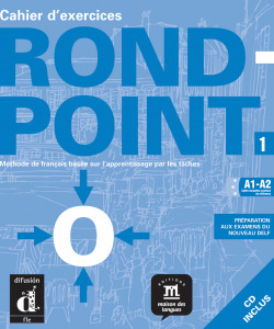 ROND-POINT 1.(CAHIER+CD) /COURS DE FRANCAIS