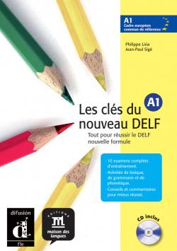 CLES DU NOUVEAU DELF 1.(A1)/ALUMNO +CD AUDIO