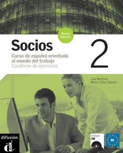 (07).SOCIOS 2.(EJERCICIOS+CD) ESPAÑOL PARA PROFESIONALES