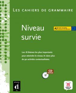 CAHIERS GRAMMAIRE A2.(+CD).(NIV.SURVIE) FRANCAISE