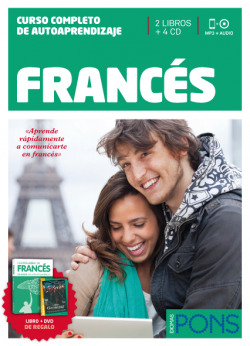 Curso Pons Frances 2 libros + 4 cd