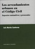 Los arrendamientos urbanos en el codigo civil