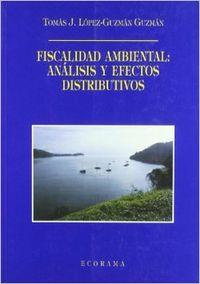 Fiscalidad ambiental