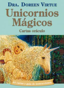 Unicornios mágicos y cartas oráculo
