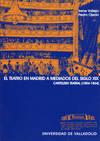 Teatro En Madrid A Mediados Del S.xix, El. Cartelera Teatral