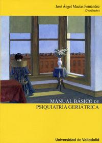 Manual básico de psiquiatria geriátrica