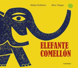 Elefante comellón