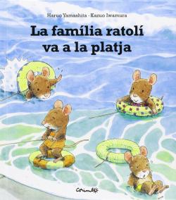La familia Ratoli va a la platja