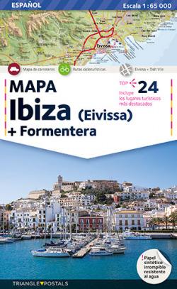 Mapa Ibiza-Formentera