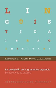 Expcepción en gramatica española