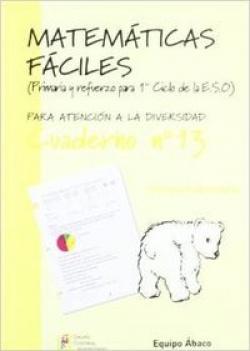 Matemáticas fáciles 13, Educación Primaria