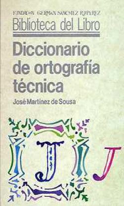 DICCIONARIO ORTOGRAFIA TECNICA