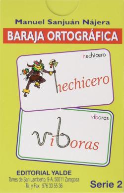 BARAJA ORTOGRAFICA 2.(5-12 AÑOS) 33 CARTAS