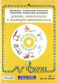 JUEGOS,ADIVINANZAS Y ACERTIJOS ORTOG.(LIBRO+CD) (10-18 AÑOS)