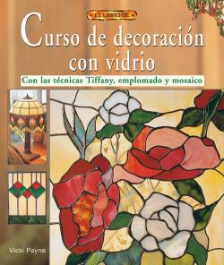 El libro de manual de decoracion con vidrio