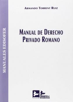Manual derecho privado romano
