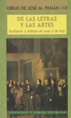 De las letras y las artes