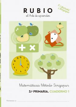 Matemáticas Método Singapur 3.º Primaria RUBIO