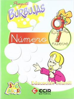 BURBUJAS.CUAD.NUMEROS 9 (INFANTIL)