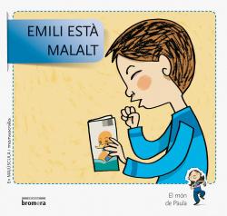 Emili esta malalt.majuscula i manuscrita
