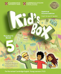 Kid's Box Level 5 Teacher's Book Updated English for Spanish Spea