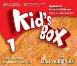 Kid's Box Level 1 Class Audio CDs (4) Updated English for Spanish