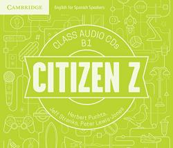 CITIZEN Z B1 CLASS AUDIO CD'S