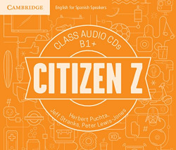 (Cd).Citizen z b1+class audio cd's
