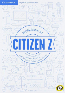 Citizen Z. Workbook with downloadable Audio. A1