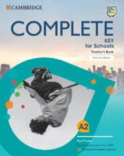COMPLETE KEY FOR SCHOOL SPANISH SPEAKERS TEACHERS