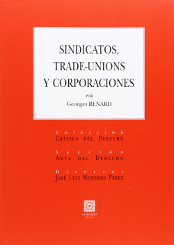 Sindicatos trade-unions y corporaciones