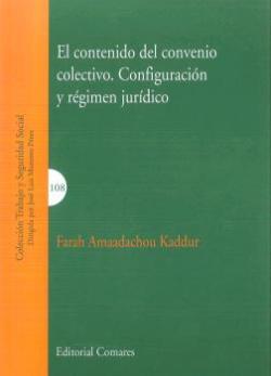 CONTENIDO DEL CONVENIO COLECTIVO.CONFIGURACIÓN RÈGIMEN JURÍDICO