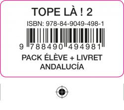 TOPE LA! 2 PACK ELEVE + LIVRET ANDALUCIA