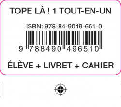 TOPE LA! 1 TOUT EN UN ELEVE+CAH+LIV+COD