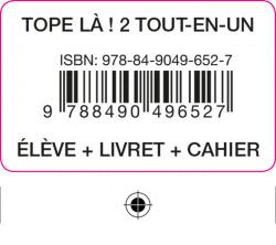 TOPE LA! 2 TOUT EN UN ELEVE+CAH+LIV+COD