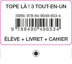 TOPE LA! 3 TOUT EN UN ELEVE+CAH+LIV+COD