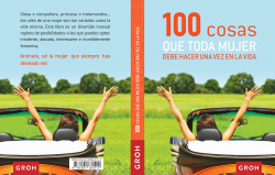 100 cosas que toda mujer debe hacer