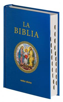 Biblia (estandar cartone con uñeros)