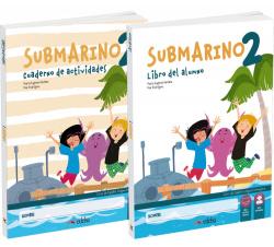Submarino 2. Pack Libro del alumno + cuaderno de ejercicios