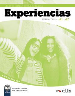 Experiencias Internacional A1 + A2. Libro de ejercicios