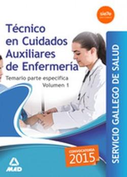 TÉCNICO CUIDADOS AUXILIARES ENFERMERIA SERGAS